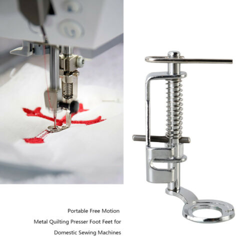 Free Motion Quilting Darning Spring Presser Foot Feet For Brother Singer Janome