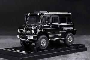 GLM-1-64-Scale-Mercedes-Benz-Unimog-U5000-SUV-Black-2012-Diecast-Car-Model