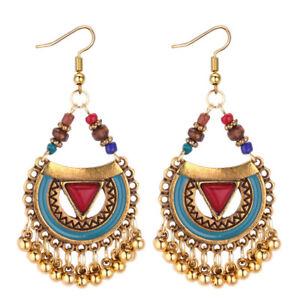 2019-Women-Indian-Ethnic-Gold-Bohemian-Vintage-Drop-Dangle-Earrings-Jewelry