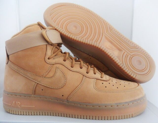 quality design cf29f f2bb2 Nike Men Air Force 1 High 07 Lv8 Flax-wheat Sz 6.5 806403-200