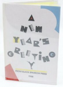 A-New-Years-Greeting-From-Black-Sparrow-Press-1988-SIGNED-by-Charles-Bukowski