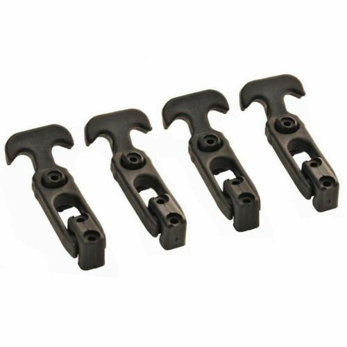 4 Packs T-handle Rubber Flexible Draw Latches fit for toolbox //cooler//Golf Cart