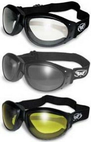 3 Cycling Wind Eliminator Motorcycle Goggles Padded convertible Basketball Ball