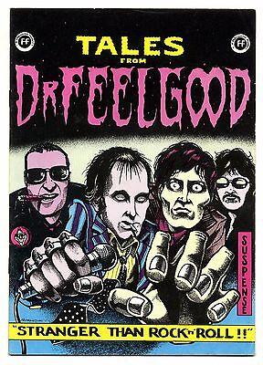 DR FEELGOOD Tales from Rare Tour Programme 1975 Joe Petagno Hamish Hugo Williams
