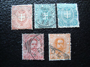 Italy-Stamp-Yvert-and-Tellier-N-56-A-60-Obl-A11-Stamp-Italy-T