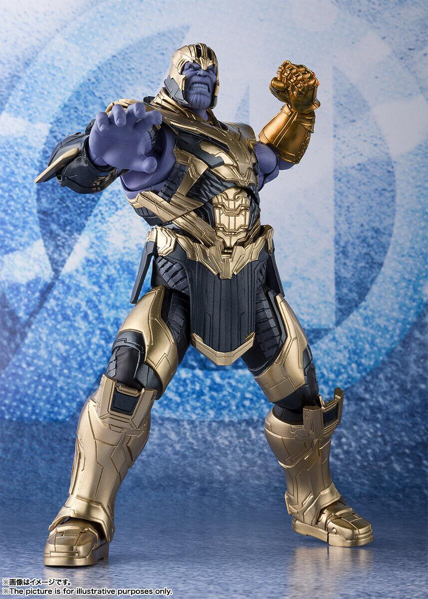 Bandai S.H. Figuarts Thanos (los Vengadores juego de extremo) versión de Japón