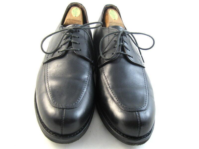 Allen Edmonds   MSP  Oxfords Split Toe bluecher 10 D Black  (801)