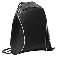 0da01aedb794 Ccm Hockey Black Drawstring Backpack Gym Sport Sack Pack for sale ...