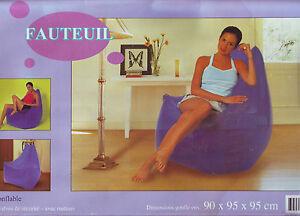 Poltrona gonfiabile 90 x 95 x 95 cm rara comoda design inflatable fauteuil - Italia - Poltrona gonfiabile 90 x 95 x 95 cm rara comoda design inflatable fauteuil - Italia