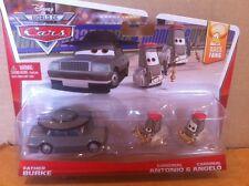 "DISNEY CARS DIECAST -""Father Burke & Cardinals Antonio & Angelo""  - (New & Rare)"