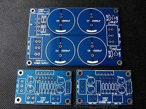 2pcs-LM3886-HIFI-Power-Amplifier-PCB-with-Rectifier-Filter-Power-Supply-DIY-NEW