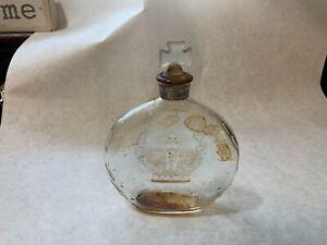 Vintage-Prince-Matchabelli-Perfume-Bottle-Gypsy-Patteran-Empty