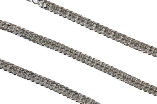 Double Diamond Cut Key Chain Wallet Bikers Chain Punk Style With Metal Clasp USA