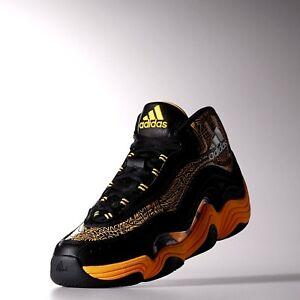 8ad7664240eb Details about Adidas Crazy 2 LAKERS 10.5 Kobe Bryant Kb 8 97 98 1 24 Mamba  Protro la Black 23