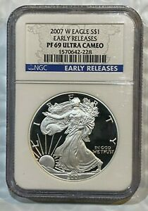 2007-W-Proof-Silver-Eagle-NGC-PF69-UCAM-Early-Releases-228