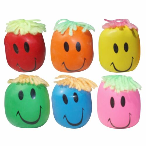 Moody SMILEY Balle Anti-Stress-Extensible Squishy Moulage Pâte Fidget Toy