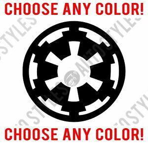 Imperial Vinyl Decal Sticker Car Boat helmets Window Wall Star Wars Sign logo