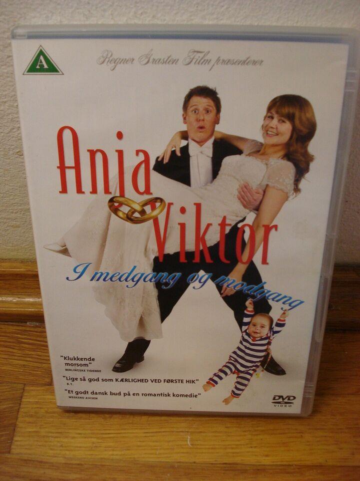 Anja og Victor 1-5 (alle filmene), DVD, komedie