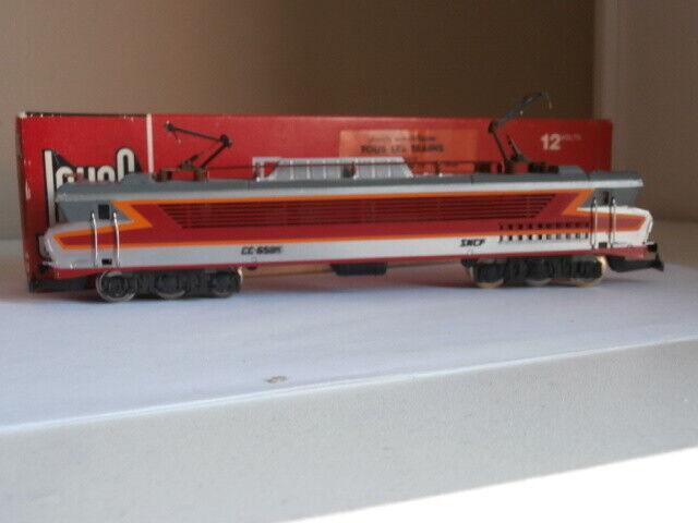 SNCF TRES BELLE LOCOMOTIVE ELECTRIQUE CC 6505 JOUEF REF 8436