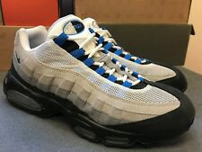 Men's Nike Air Max 95 Size 13 Chlorine Blue Grey Coral Used 609048 038 2010 | eBay