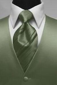 Brand-New-Luxury-Premiere-Tuxedo-Vest-amp-Striped-Necktie