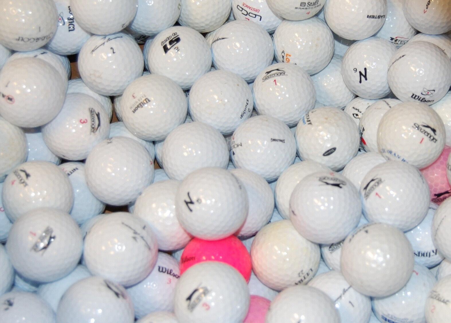 100 Assorted  AAAAA used golf balls .90 with free shipping