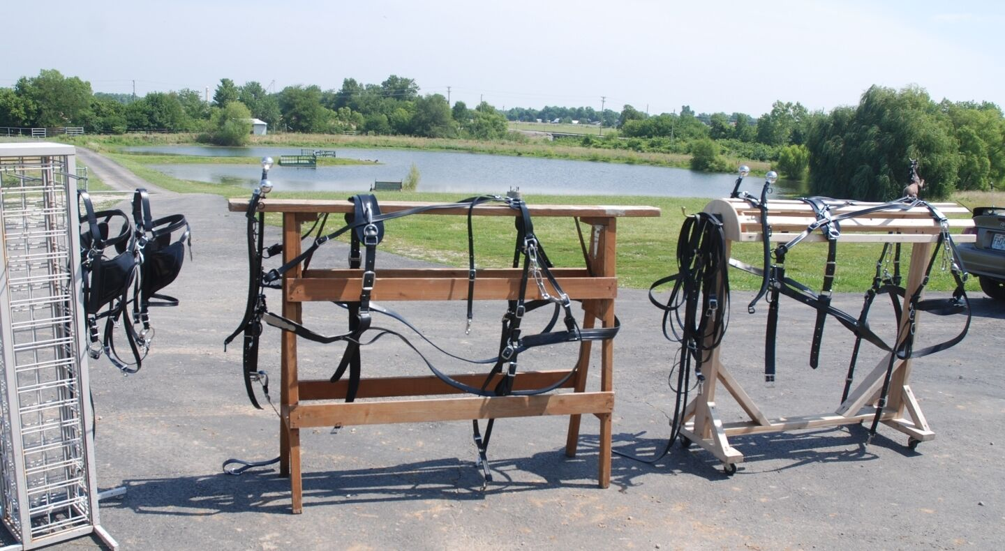 Amish made team beta biothane MULE WORK HARNESS  brand new complete