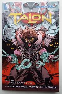 NEW-ECCC-2017-SIGNED-SCOTT-SNYDER-TALON-1-Scourge-Of-The-Owls
