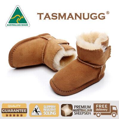 5649af6cd1b Tasman UGG-Baby Infant Erin Boots, Kids Bootie Cradle, Australian Made,  chestnut | eBay