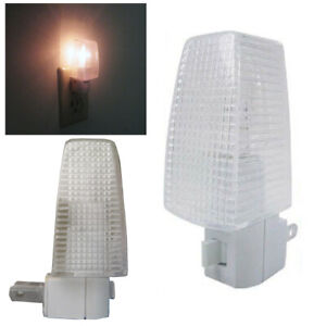 2-Pack-Night-Lights-On-Off-Switch-Bright-White-Light-Nite-Wall-Plug-Home-Safety