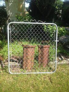 Vintage WIRE GATE GARDEN YARD ART Cottage Style Fence | eBay