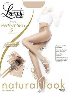 LEVANTE-Perfecto-skin-5-Den-Medias-finas-Ultra-dunne-EXTRA-FINA-TALLA-38-46-pska