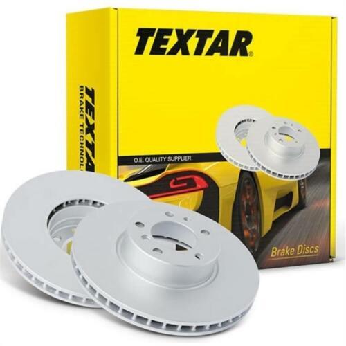 2 Textar discos de freno 300mm delantero BMW