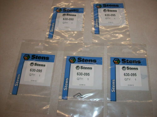 LOT OF 5 STENS 630-095 STIHL STARTER SPRING CLIP 1118-195-3500