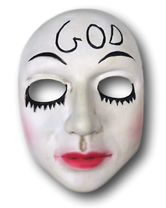 La Purge Masque Sourire Halloween Film Movie Horror Fancy Dress Kiss