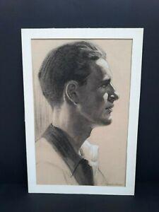 Young-Paul-Newman-Original-Portrait-Drawing-By-Simon-Vanderlaan-SV61