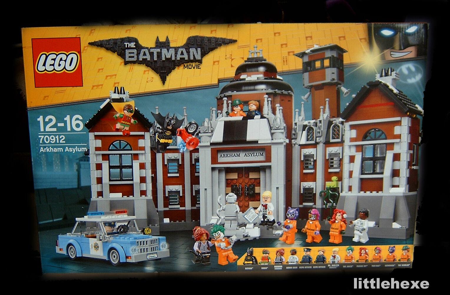LEGO The Batman Movie 70912 Arkham Asylum NEU OVP