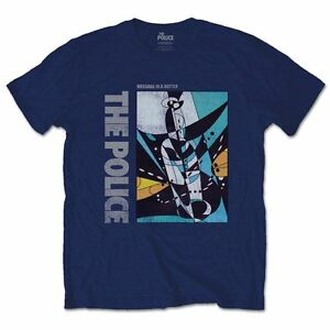 The Police - Message In A Bottle - Men's Official Navy T-Shirt