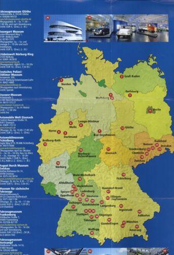 Automobilmuseen in Deutschland Auto Classic Extra Poster Automobile Museums