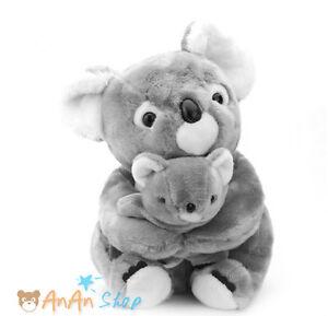 Cute 40cm Plush Mother And Child Koala Bear Stuffed Animal Doll Soft
