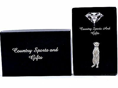 Meerkat Standing Finest English Pewter Lapel Pin Badge Brooch Hand Made Gift Box
