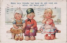 POSTCARD COMIC BAMFORTH DUTCH KIDS Series No 326