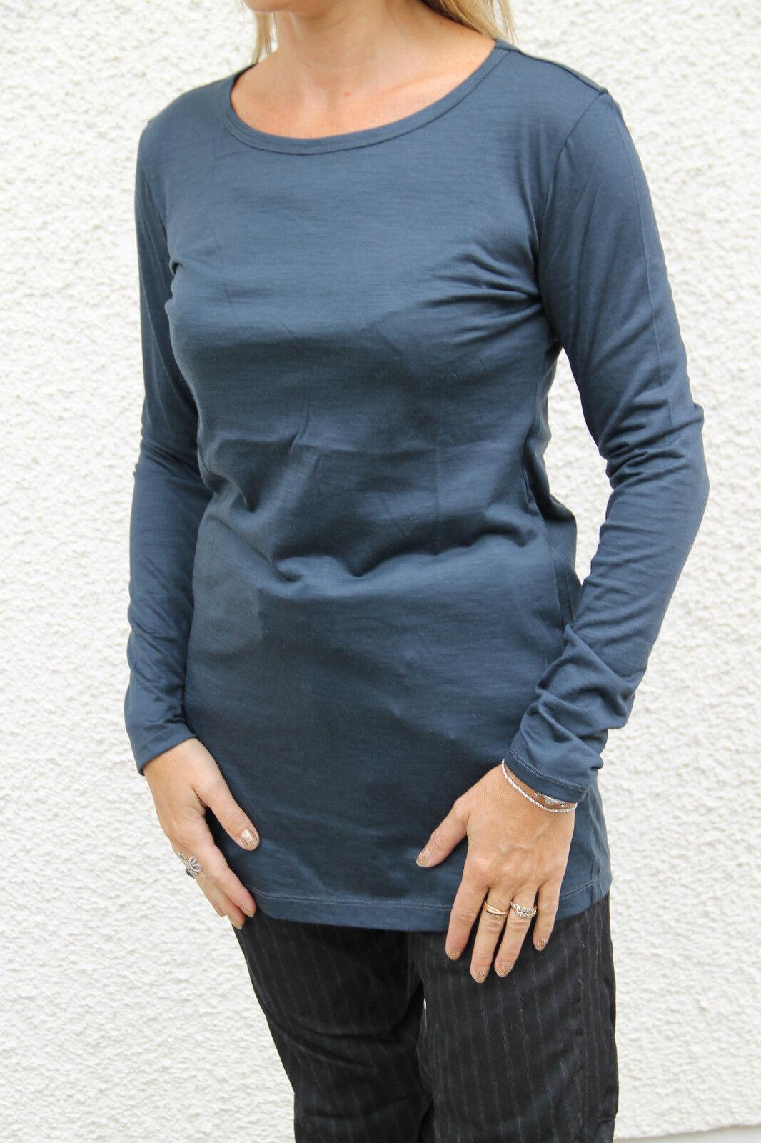 Tunique pull laine extra fine bleu M&F GIRBAUD hanacces T 42 PRIX BOUTIQUE