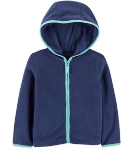 6a7f8e655d63 NEW Baby Boys   Girls Fashion Sweater Front Zip-Up Fleece Hoodie ...