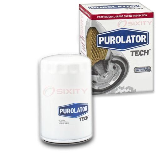 Purolator TECH Engine Oil Filter for 1985-1999 GMC K1500 Long Life an