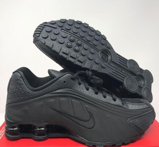 Nike Shox R4 Triple Black Bv1111-001 Men's Running Shoes Sz ...
