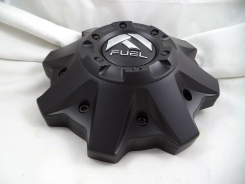 Fuel Offroad Wheel Center Caps 1002-53BR  Flat Black 8-Lug ONE NEW