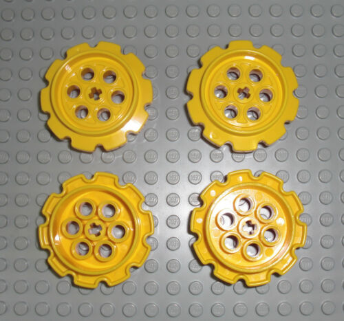 LEGO Technic 4x Führungsrad für Kette gelb Tread Sprocket Wheel 8275 57519