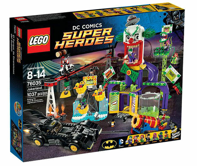 LEGO 76035 Super Super Super Heroes Jokerland Building Set Kit Harley Joker Collectible Toy 690968