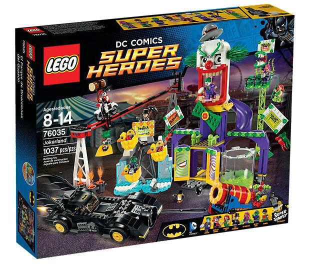 Lego - helden 76035 jokerland